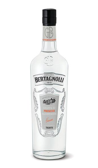 Grappa Prosecco di Valdobbiadene, Distilleria Bertagnolli 0,7l, 40% Vol.