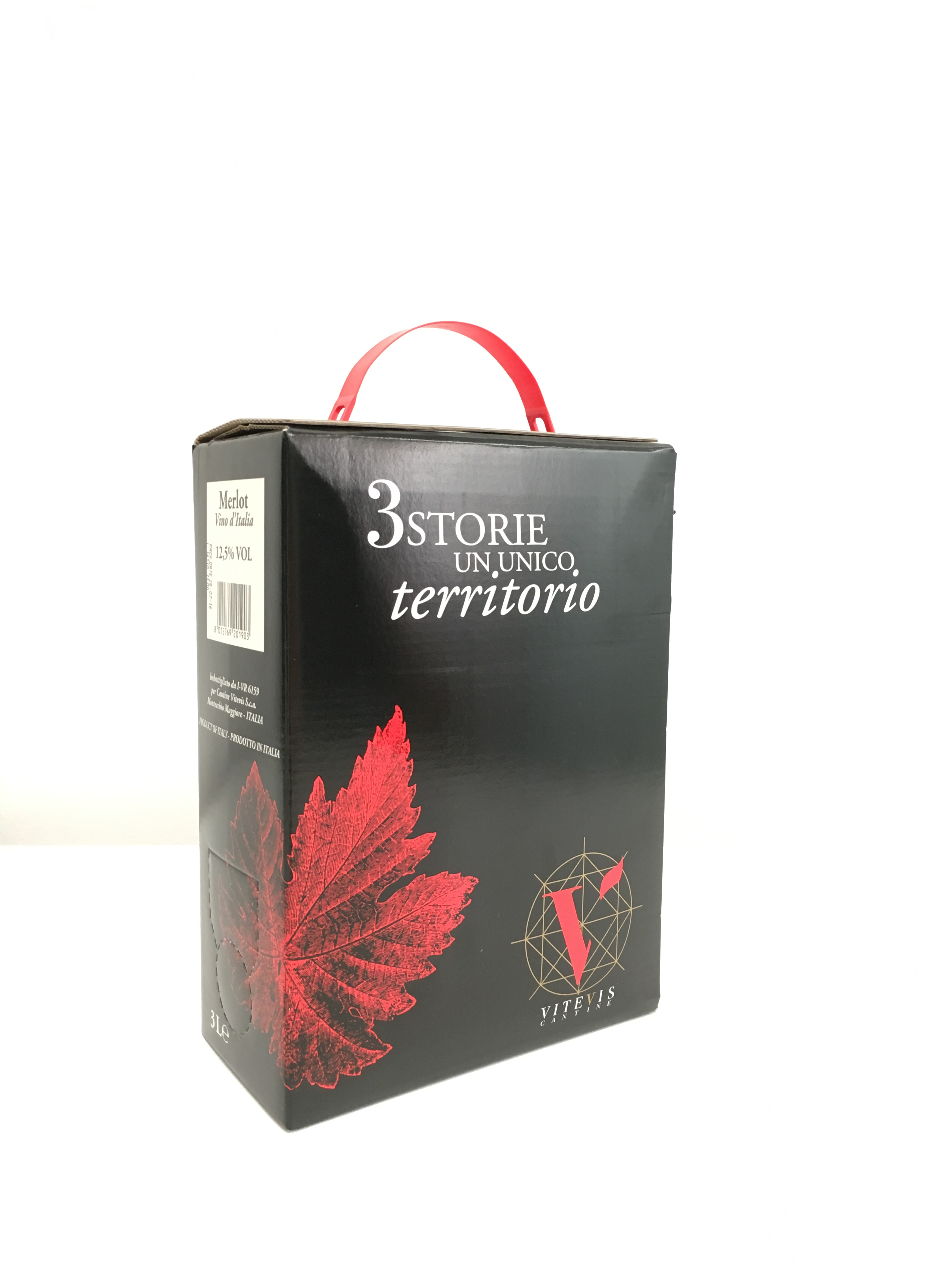 Bag in box Merlot Vitevis 3litry