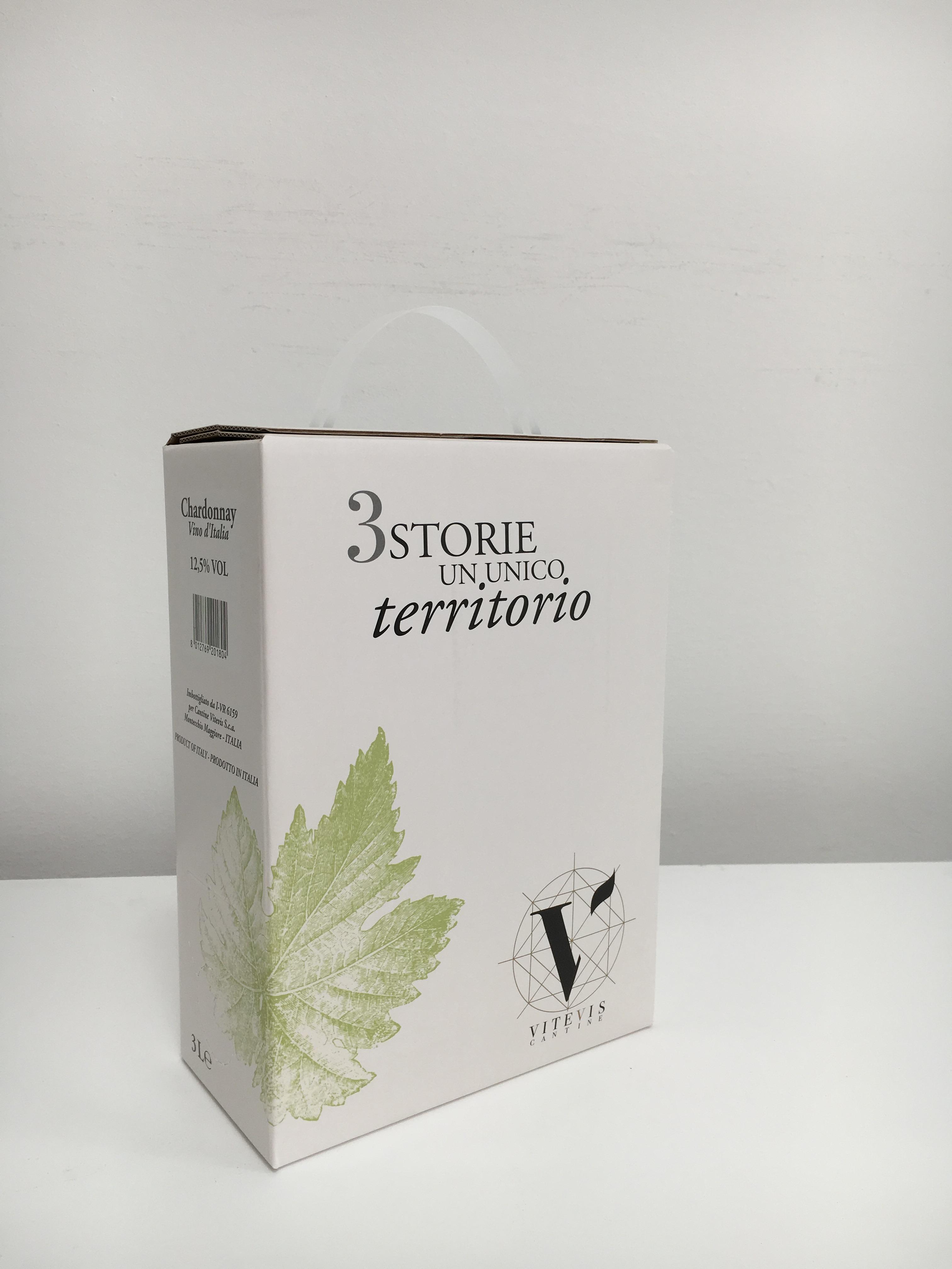 Bag in box Chardonnay Vitevis 3litry