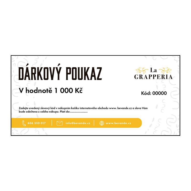 Darkovy poukaz v hodnote 10 000 kc  6be425ae951