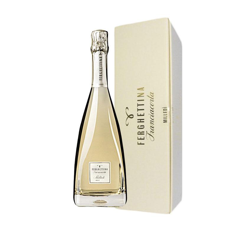 Dárkové balení, Franciacorta Milledi, DOCG, Metodo Classico, 2015, Vinařství Fergettina, 0,75l