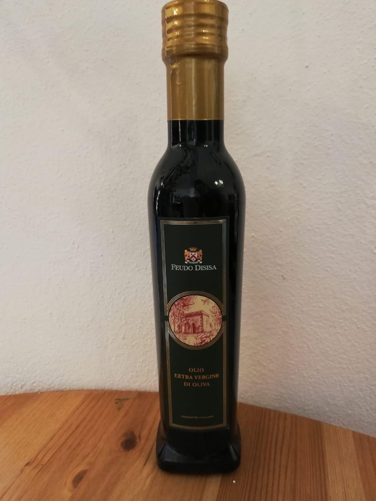 Extra panenský nefiltrovaný olivový olej I.G.P. Sicílie, výrobce Feudo Dissisa 250ml