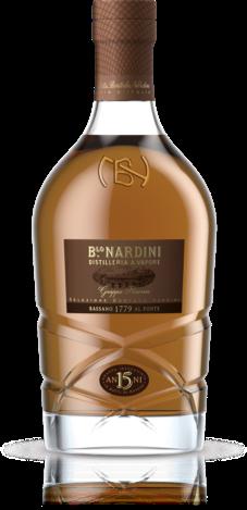Grappa Riserva Nardini 15y 0,7L, 45% Vol. v dárkovém balení