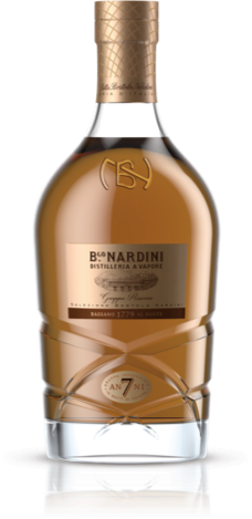 Grappa, Riserva, 7y, Distilleria Nardini, 45%, 0,7l, dárkové balení