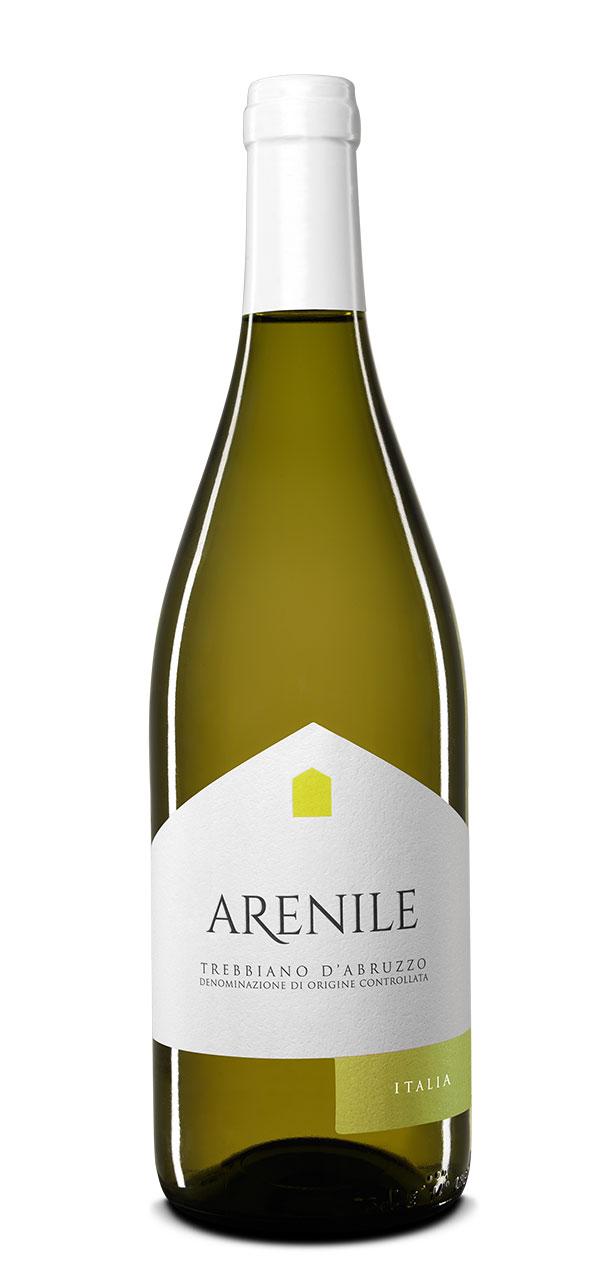 Trebbiano d´Abruzzo, Arenile, DOC, Vinařství Ripa Teatina, 0,75l, 12%