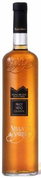 Grappa Pinot Nero Riserva Villa de Varda 0,7L 40%