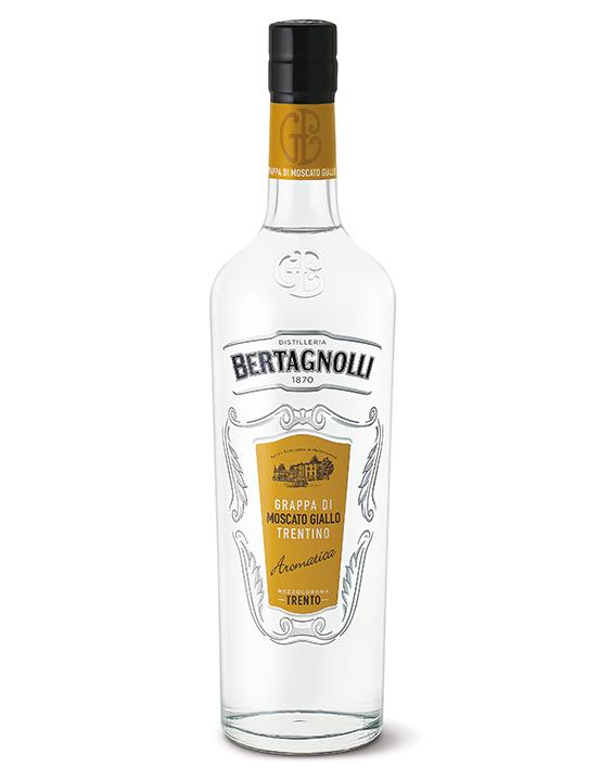 Grappa Moscato Bertagnolli 0,7l, 40% Vol.