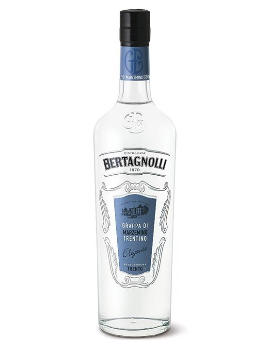 Grappa Marzemino G. Bertagnolli 0,7l, 40% Vol.