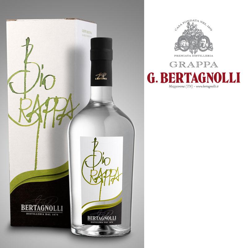 Bio Grappa G. Bertagnolli 0,7L, 40% Vol.