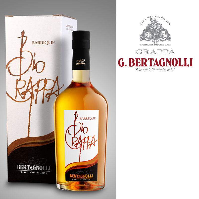 Bio Grappa Barrique G. Bertagnolli 0,7L, 40% Vol.