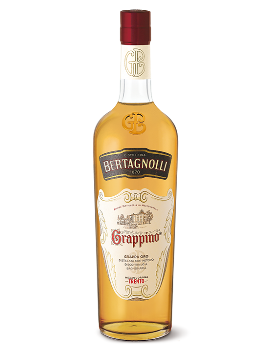 Grappino Oro Bertagnolli 0,7l, 40% vol.