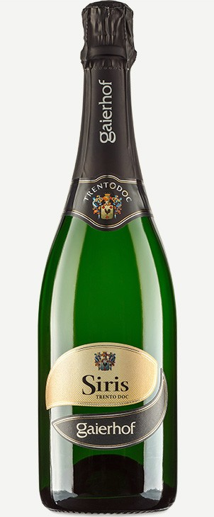 Šumivé víno SIRIS Trento BRUT DOC 2011 Metodo Classico