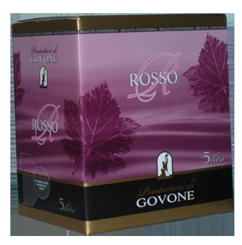 Bag in Box Langhe Rosso DOC Govone 5litrů