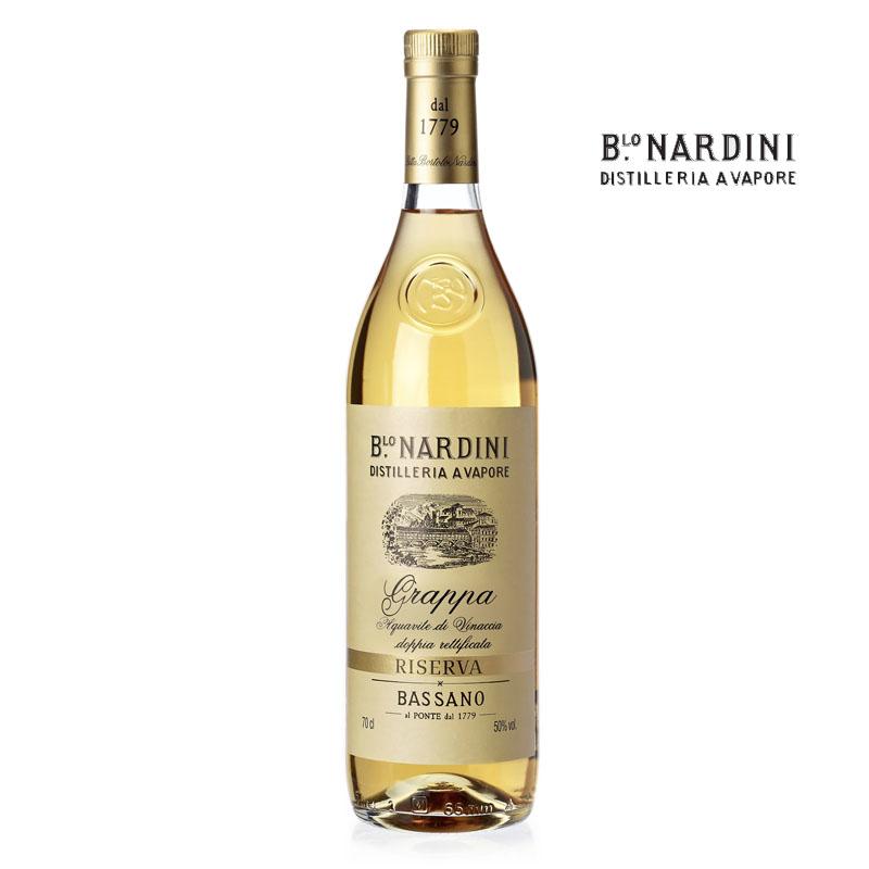 Grappa Riserva Nardini 3 roky, 0,7l, 50% Vol.