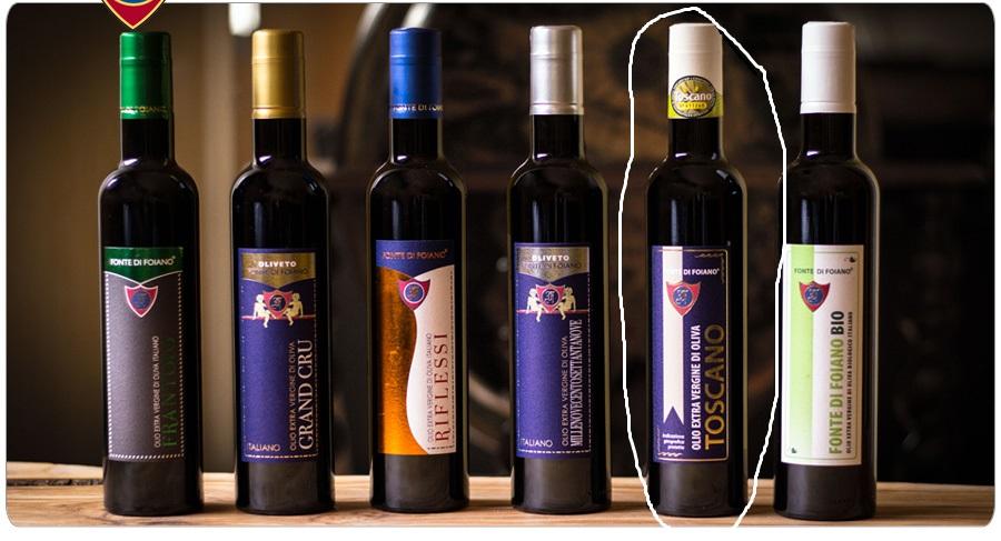 Extra panenský olivový olej I.G.P. TOSCANA 500ml