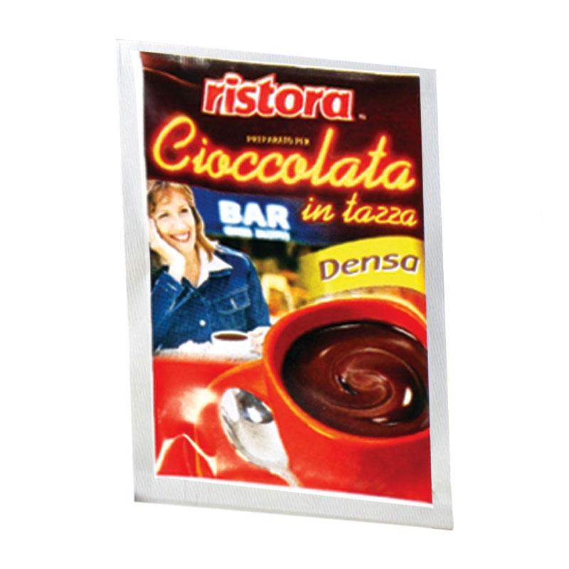RISTORA směs: sypká směs pro přípravu nápoje s příchutí čokolády (bez lepku) jednoporcová 25g